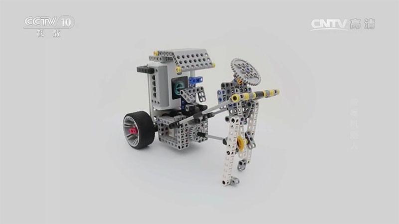 能力风暴——教育机器人*发明者